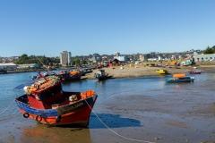 Der Hafen von Isla Tenglo