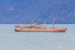 Das Wrack bei Cotopaxi