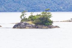 auch auf der kleinsten Insel