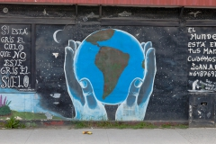 Punta Arenas - und Streetart