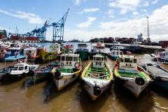 Am Hafen von Valparaiso