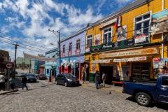 Valparaiso ist sowas wie eine bunte Hippistadt :-)