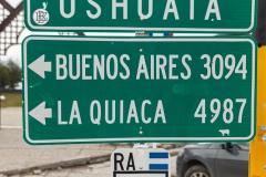 Ushuaia - ist schon ganz schön am Arsch der Welt