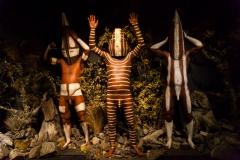 Ushuaia - Galeria Tematica Historia Fueguina - das Museum erzählt die Geschichte der ersten Ureinwohner, 10.000 Jahre zurück