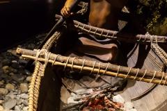 Ushuaia - Galeria Tematica Historia Fueguina - und Fischfang. Es gab auch Feuer auf dem Boot :-)