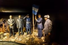 Ushuaia - Galeria Tematica Historia Fueguina - die Region war zuerst englischen Gebiet, bis es eine argentinische Präfektur wurde