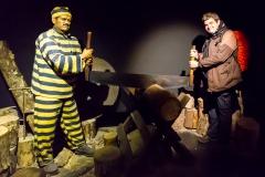 Ushuaia - Galeria Tematica Historia Fueguina - am Anfang des 20. Jahrhunderts..