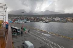 Blick zurück auf Ushuaia