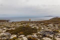 West Point Island - der Mensch wird und wirkt klein und verloren