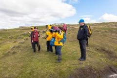 Falklandinseln - Rund um Stanley - die kleine Gruppe auf der Tour