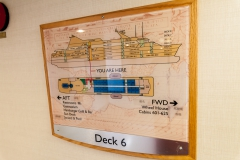 Ocean Diamond - Plan von Deck 6