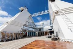 Ocean Diamond - offener Bereich von Deck 6