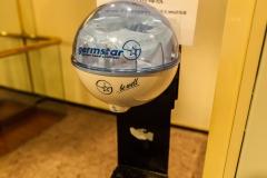 Ocean Diamond - vor jedem der größeren Räume gab es eine Hand-Desinfektionsstelle, sehr sinnvoll