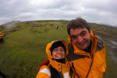 Salisbury Plain: Spaß im Regen :-)