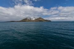 Cooper Bay vom Schiff aus