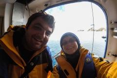 Cierva Cove: Startklar zur Zodiac-Fahrt