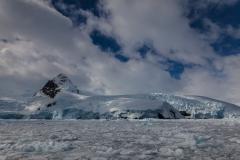 Cierva Cove:Cierva Cove: Fahrt durch das Eis