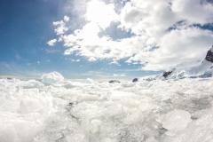 Cierva Cove: das Eis hat gut genirscht