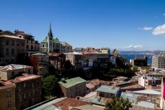 Noch mal ein Ausblick auf Valparaiso