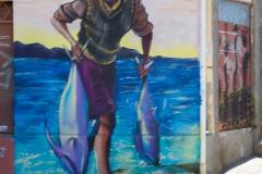 Streetart ist in Valparaiso einfach überall.