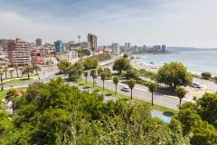 Die Stadt ist im Vergleich zu Valparaiso deutlich moderner.