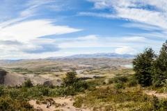 Torres del Paine: die Aussicht war schon ok :-)