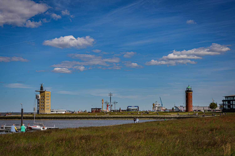 Cuxhaven - hamburger leuchtturm